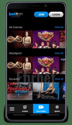 Descarga la aplicacion movil de Betiton para Android o iPhone