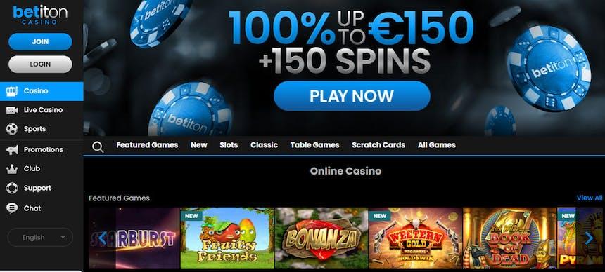 Juegos de casino de Betiton