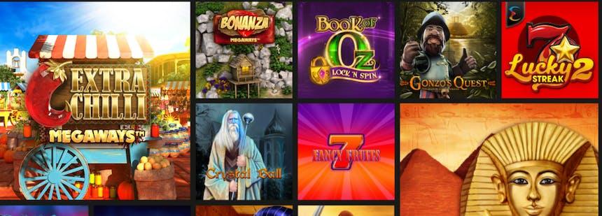 Juegos de casino de Betobet