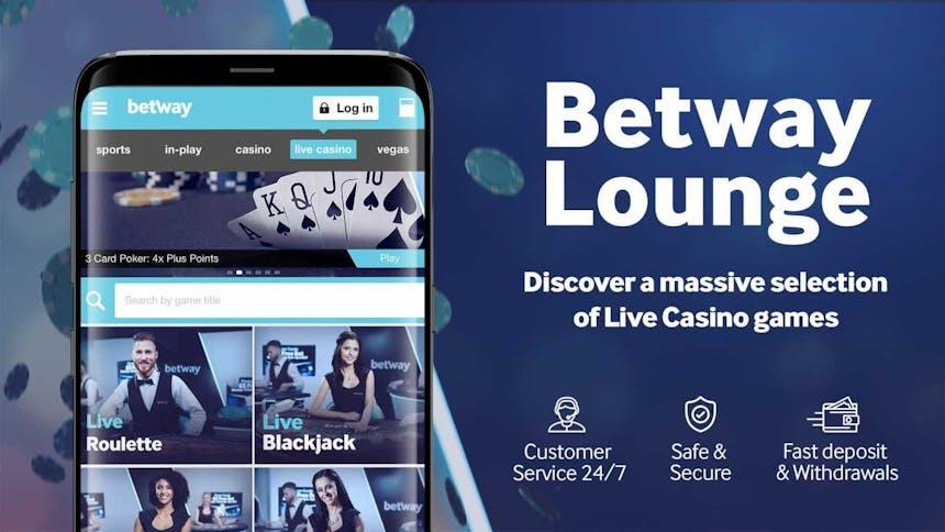 Descarga la aplicacion movil de Betway para Android o iPhone
