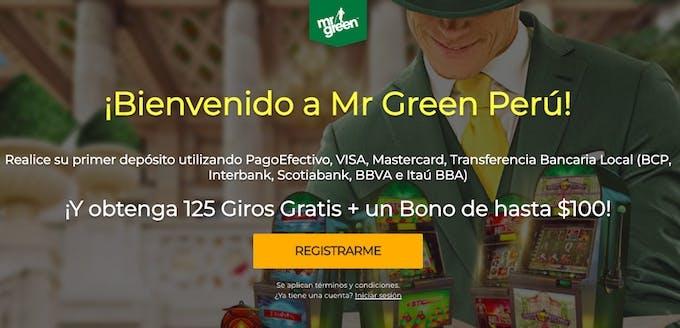 Mr Green bono e promozioni