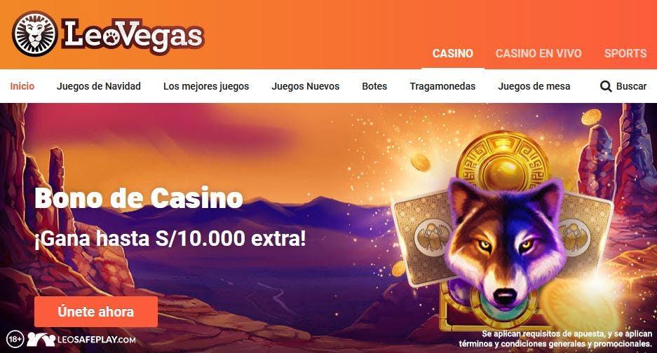casino online en Perú Leovegas
