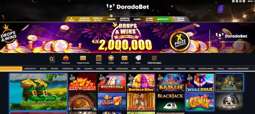 Juegos de casino de Doradobet
