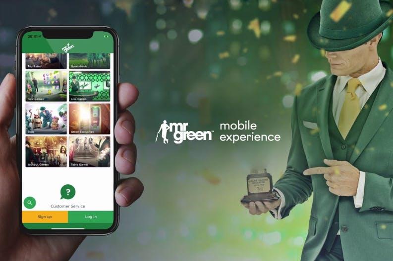 Descarga la aplicacion movil de Mr Green para Android o iPhone