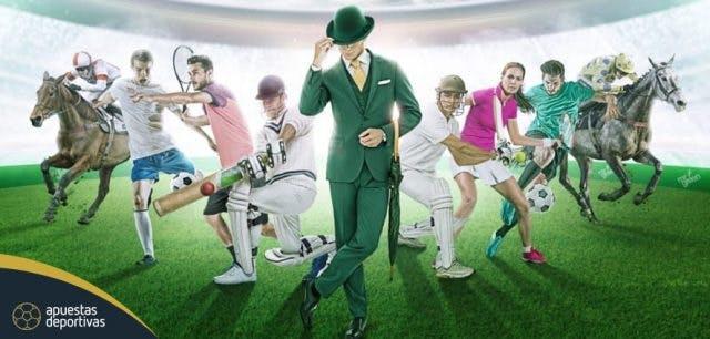 fútbol e otros deportes con Mr Green