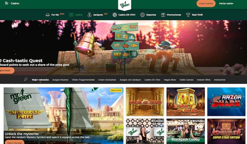 Juegos de casino de Mr Green