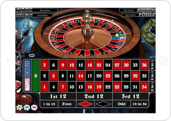 La sección de Ruleta en Betway casino