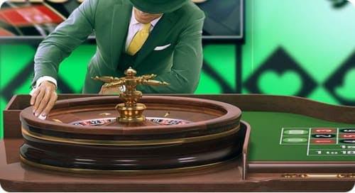 La sección de Ruleta en Mr Green casino