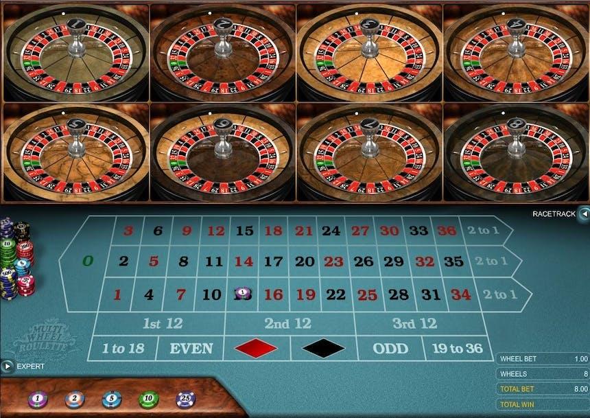 La sección de Ruleta en RubyFortune casino