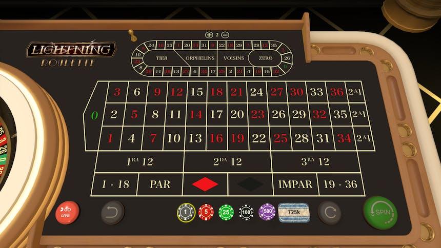 Ruleta en Playzee casino