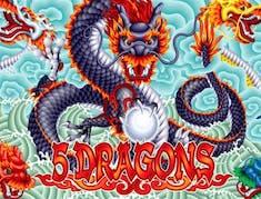 5 Dragons logo