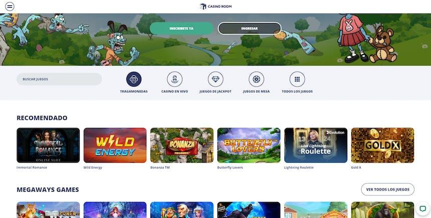 juegos de slot online en Casino Room