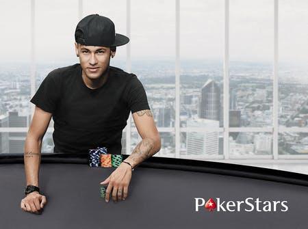 Neymar forma parte de PokerStars