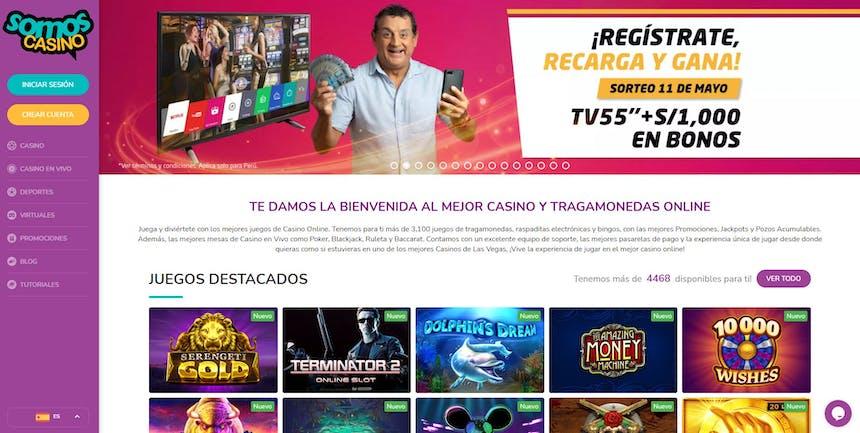 juegos de slot online en SomosCasino