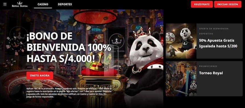 Royal Panda bono e promozioni