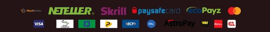 Métodos de pago del PlayUzu